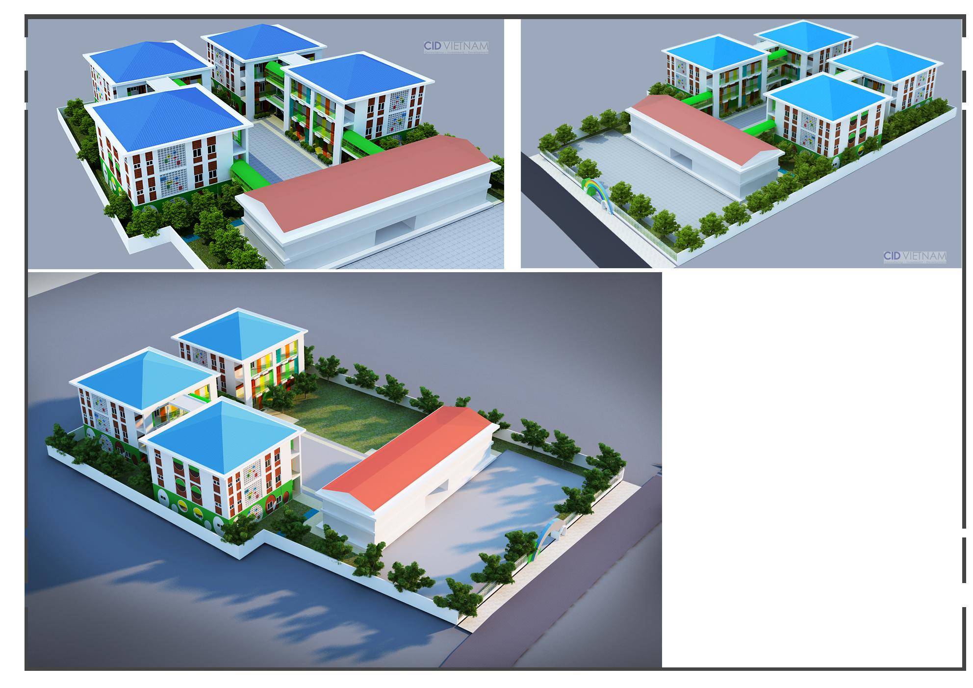 Trường mầm non Hưng Lộc
