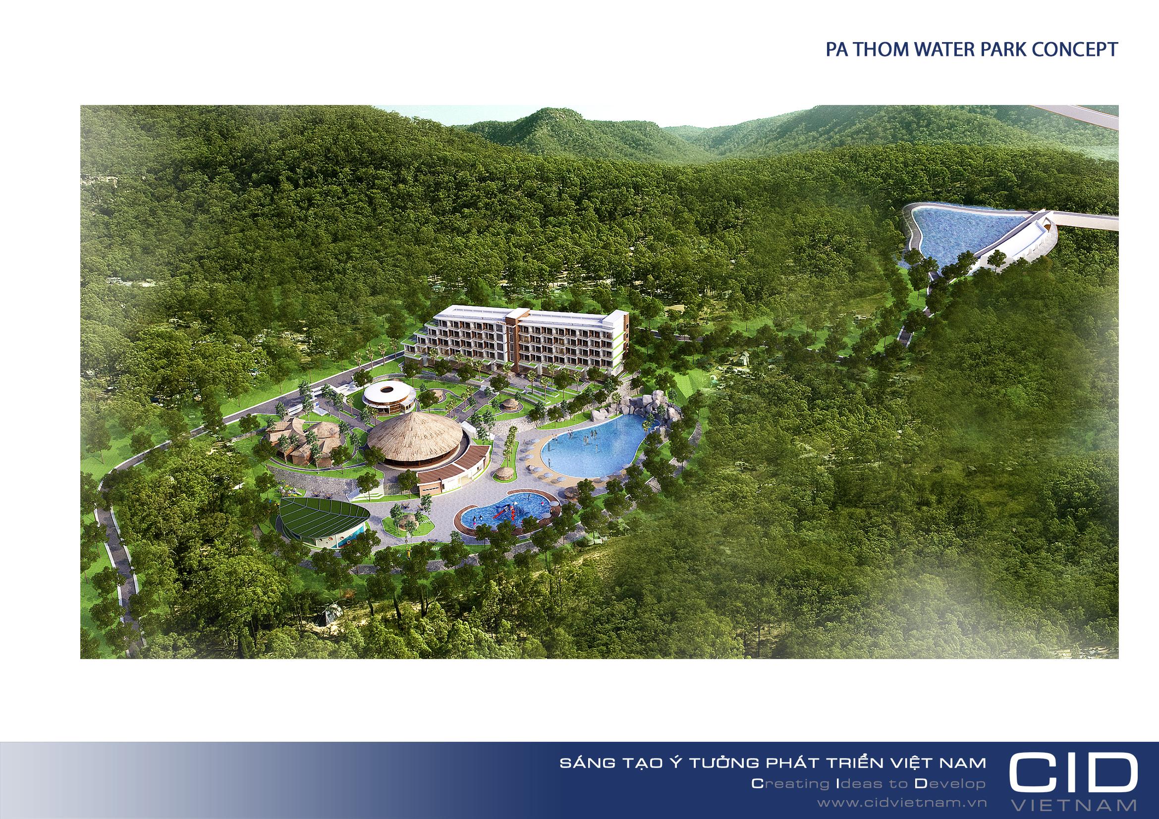 Khu nghỉ dưỡng, du lịch sinh thái hang động Pa thơm