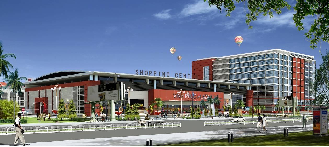 Trung tâm thương mại Vĩnh Phúc
