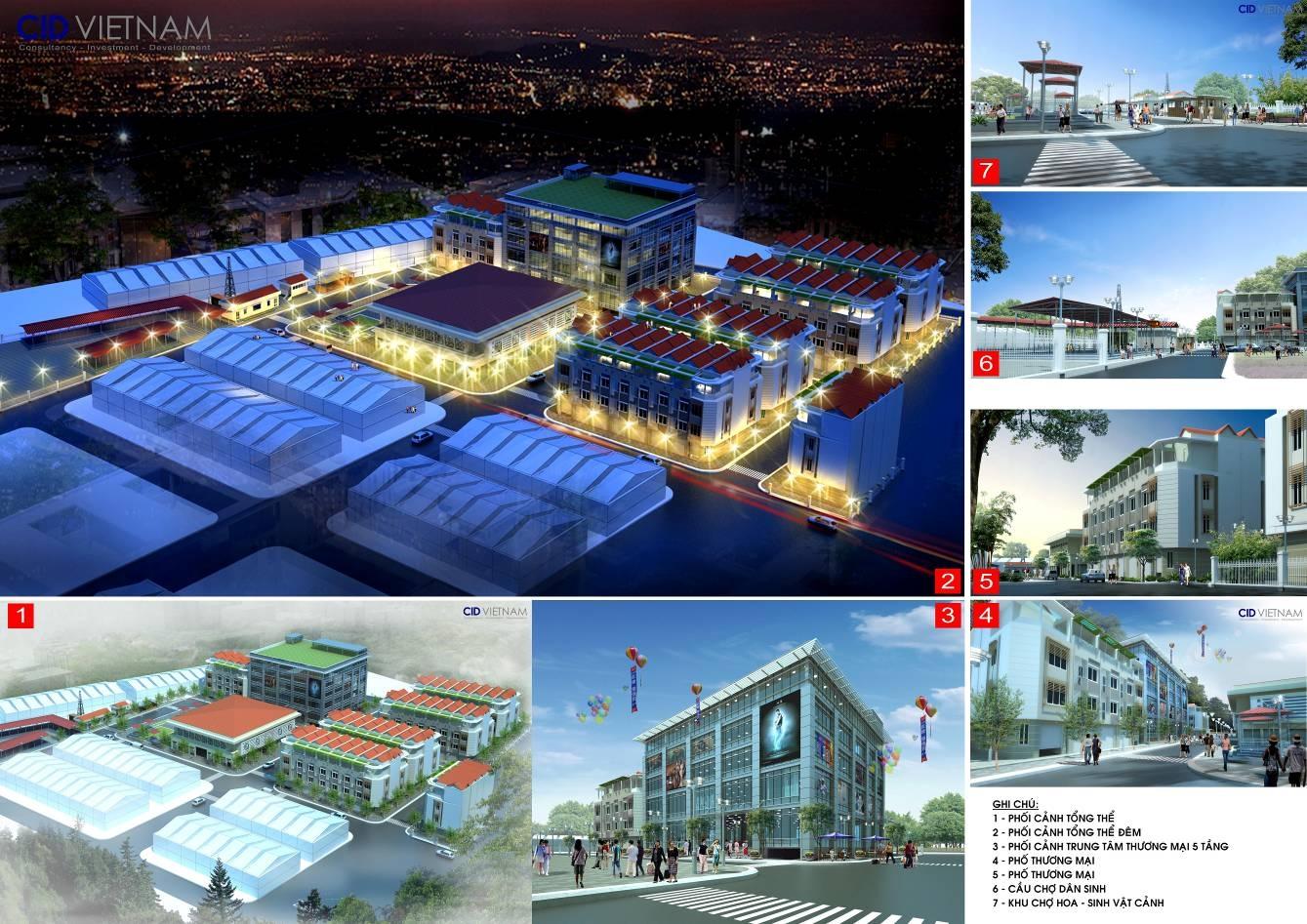 Trung tâm thương mại, dịch vụ tổng hợp Trần Cao