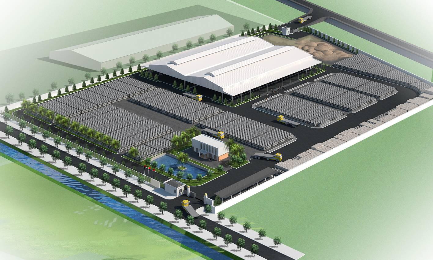 Nhà máy sản xuất gạch không nung Khang Minh